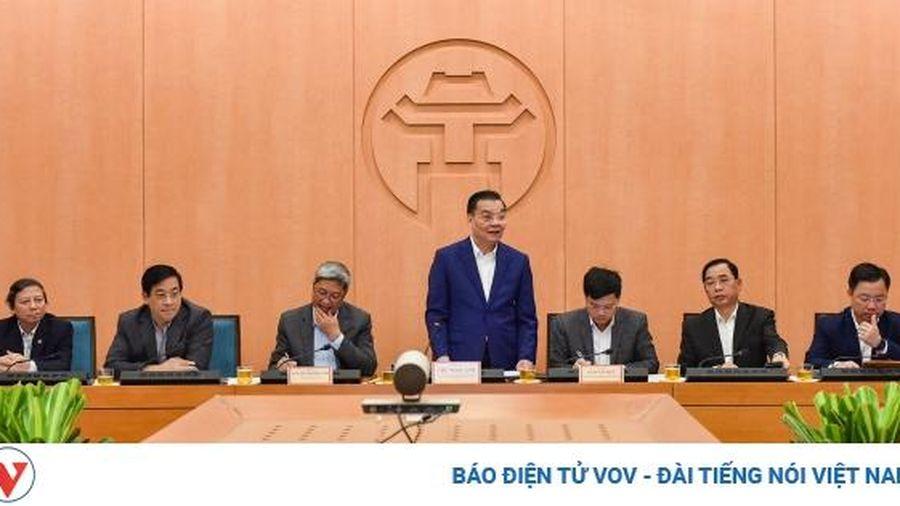 'Không để làn sóng thứ 3 của dịch Covid-19 xảy ra ở Thủ đô Hà Nội'