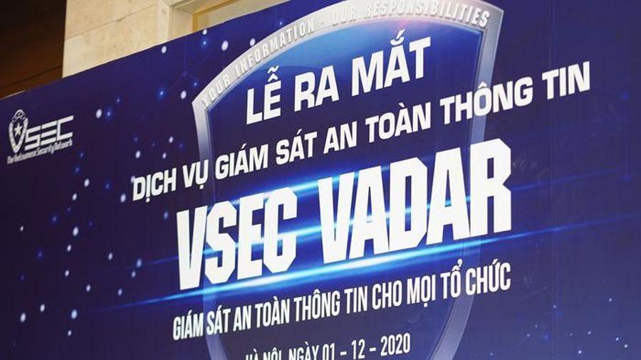 Ra mắt dịch vụ giám sát an toàn thông tin Made in Vietnam