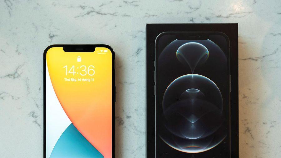 iPhone 12 Pro Max VN/A màu xanh và than chì lên kệ Di Động Việt