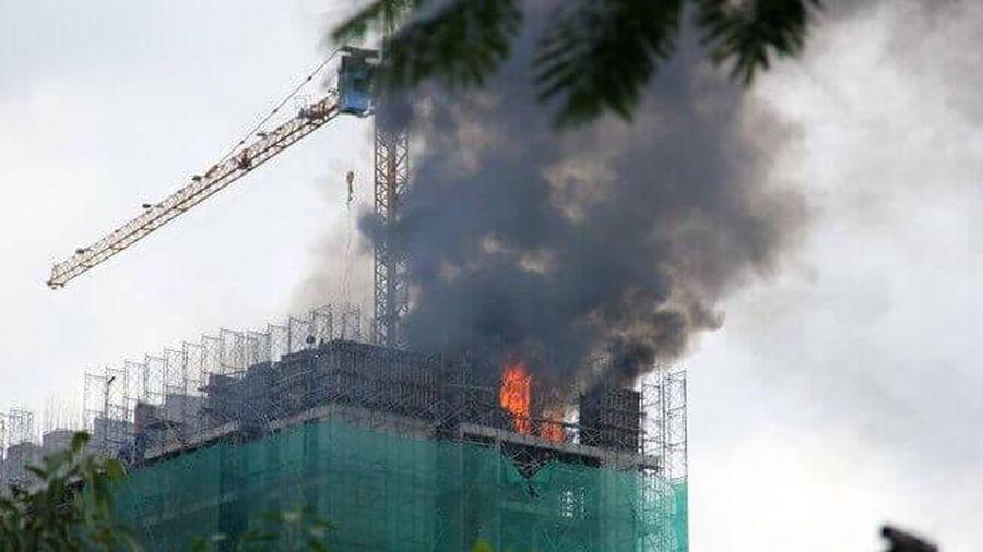 Đảm bảo phòng cháy, chữa cháy tại các công trường xây dựng