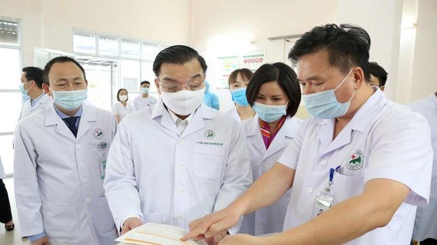 Hà Nội tăng cường phòng, chống dịch Covid-19 tại bệnh viện và doanh nghiệp