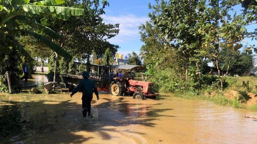 Nhiều địa phương ở Đắk Nông ngập chìm trong nước