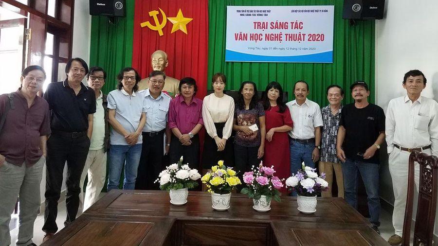 Trại sáng tác VHNT Đà Nẵng tại TP Vũng Tàu