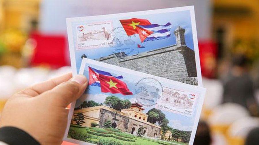 Phát hành đặc biệt bộ tem 'Tem phát hành chung Việt Nam-Cuba'