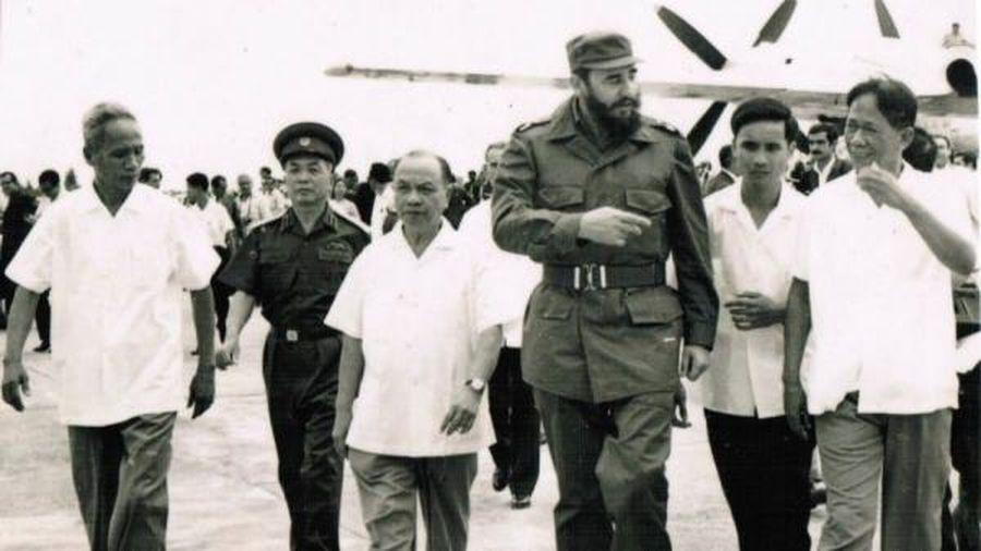 Chủ tịch Fidel Castro và nghĩa tình sâu nặng với Việt Nam