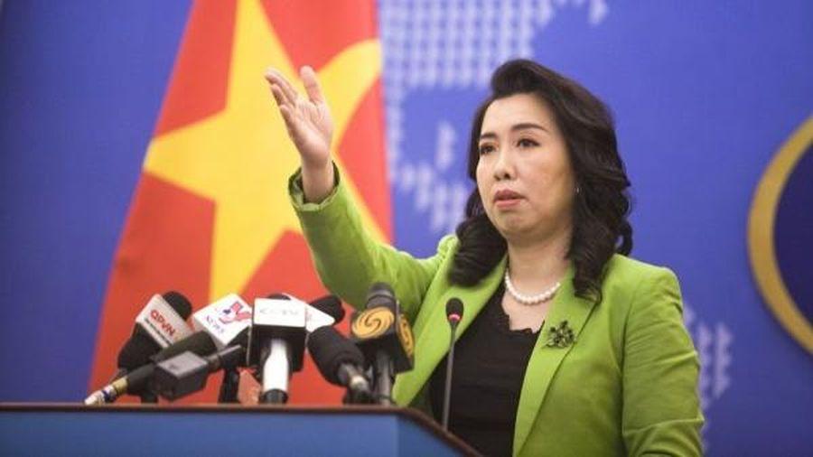 Người phát ngôn Bộ Ngoại giao: Yêu cầu Trung Quốc tôn trọng chủ quyền của Việt Nam trên Biển Đông