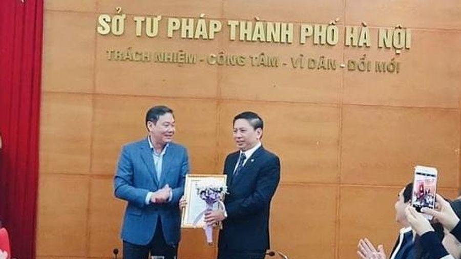 Ông Nguyễn Công Anh được bổ nhiệm giữ chức danh Phó Giám đốc Sở Tư pháp Hà Nội