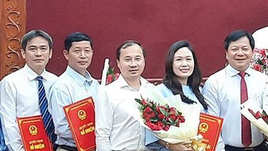 Bình Phước công bố quyết định bổ nhiệm nhiều cán bộ chủ chốt