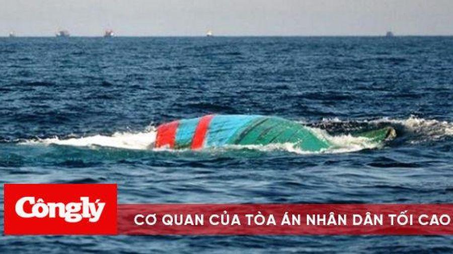 Một ngư dân mất tích khi đánh cá bằng thuyền thúng trên biển