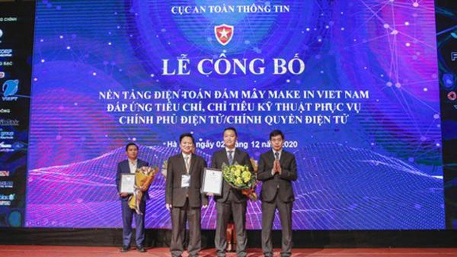 CMC Cloud là 'Nền tảng điện toán đám mây an toàn Việt Nam'