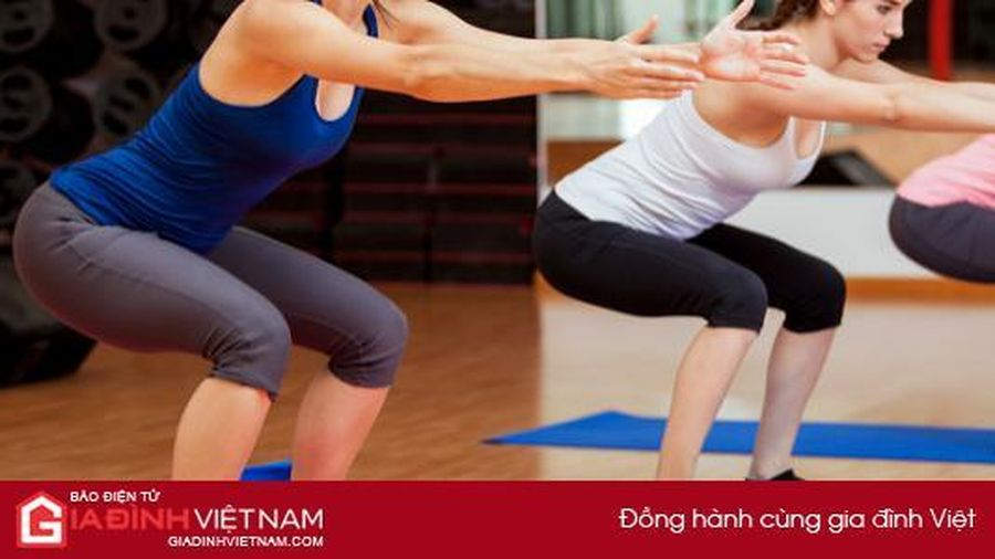 9 động tác squat giúp vòng 3 căng tròn, săn chắc sau 7 ngày