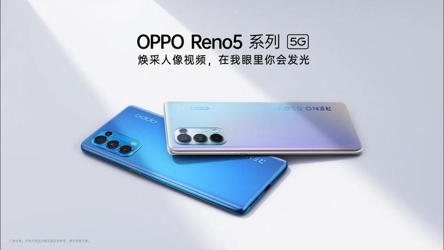 Oppo Reno5 5G series đã cho đặt hàng, giá từ 10,6 triệu đồng