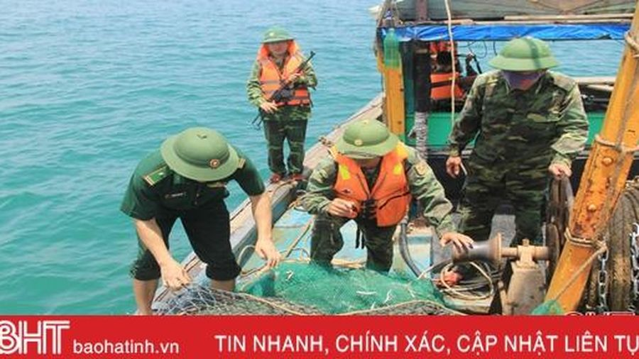 Biên phòng Lạch Kèn, 'khắc tinh' của tàu giã cào ngoại tỉnh Hà Tĩnh