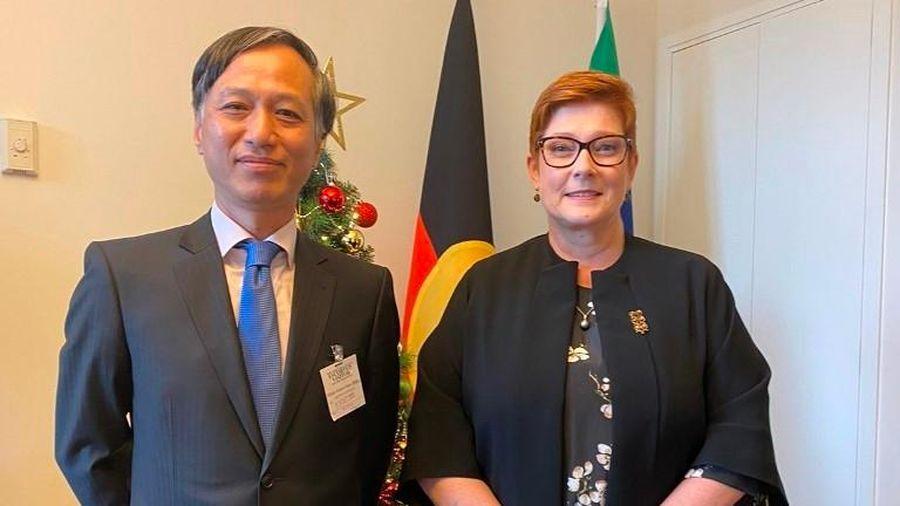 Ngoại trưởng Australia kỳ vọng cùng Việt Nam mở rộng quan hệ song phương
