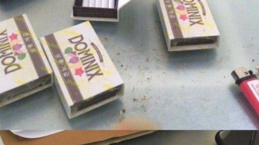 Hà Tĩnh: Xuất hiện thuốc lá gây ảo giác