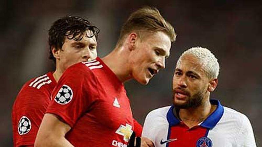 Neymar lại nổi thói côn đồ, định 'tẩn' McTominay