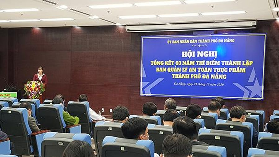 Kéo dài thí điểm hoạt động BQL An toàn thực phẩm TP Đà Nẵng thêm 3 năm
