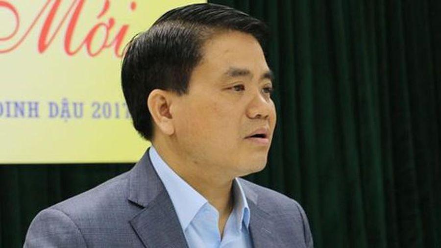 Cựu Chủ tịch Hà Nội Nguyễn Đức Chung 'vi phạm rất nghiêm trọng quy định của Đảng'