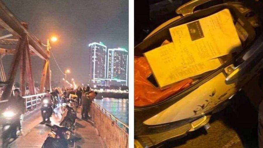 Trắng đêm tìm người phụ nữ nghi mang thai nhảy cầu Long Biên tự tử