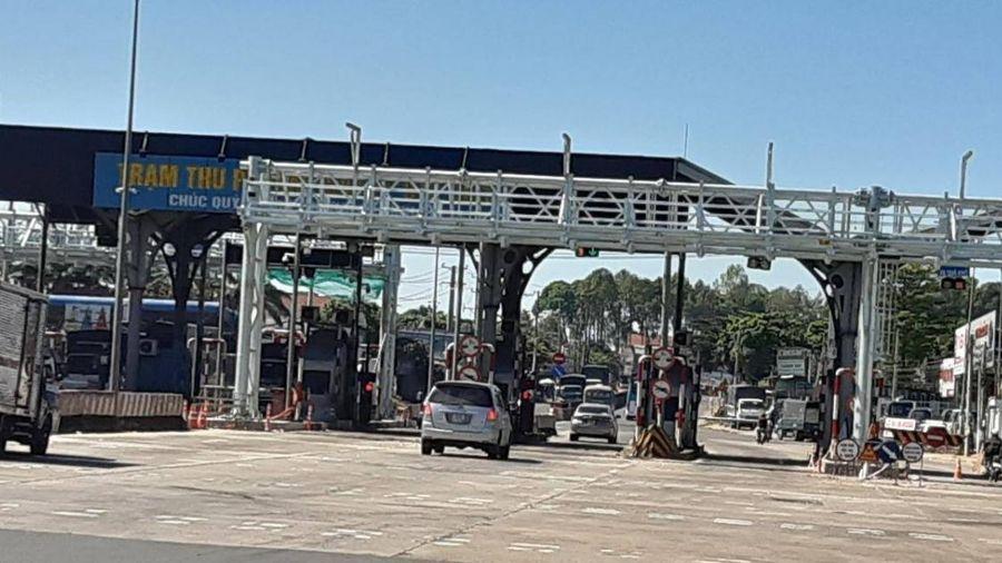 Khẩn trương lắp đặt thu phí không dừng tại 2 trạm BOT trên QL1, QL91