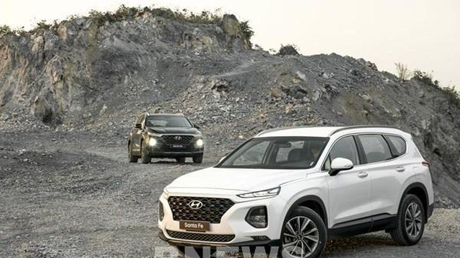 Doanh số bán xe của Hyundai Motor Co. giảm 4,3%