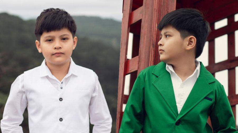 Con trai Đức Thịnh - Thanh Thúy hóa 'soái ca nhí' với phong cách lịch lãm, đậm chất Hàn Quốc