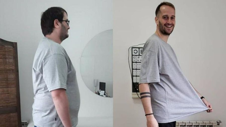 Động lực startup giúp người đàn ông Argentina giảm gần 60kg trong một năm