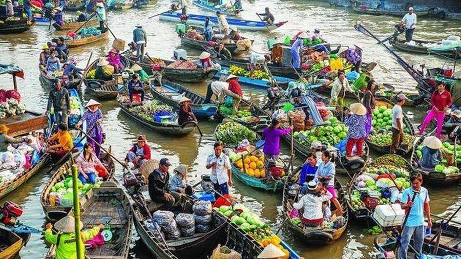 Cây bẹo – Cách quảng cáo độc đáo người dân vùng sông nước