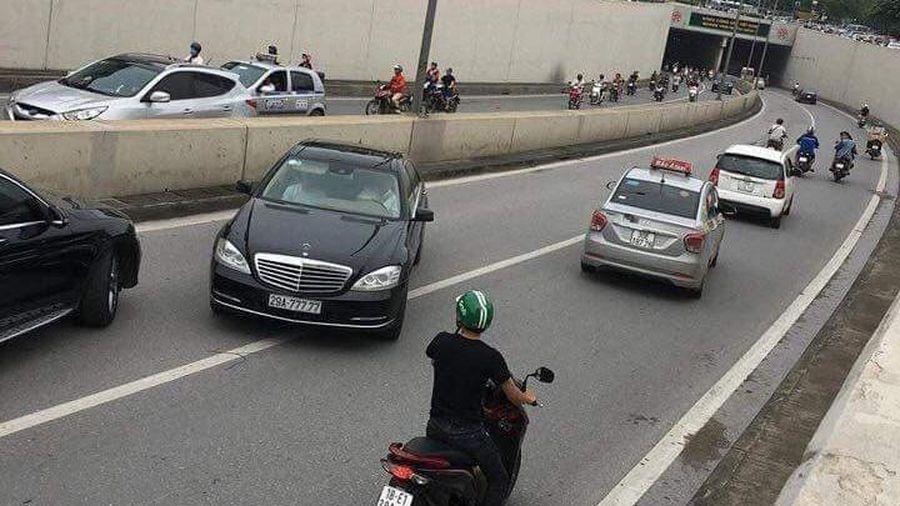 Hà Nội: Phạt 4 triệu đồng lái xe ô tô đi ngược chiều