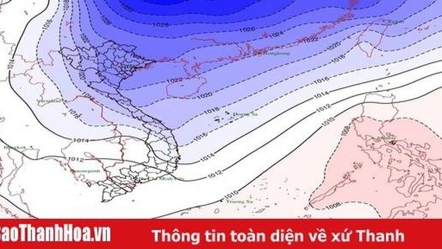 Không khí lạnh tăng cường, nhiệt độ thấp nhất tại Thanh Hóa từ 12 - 14 độ C