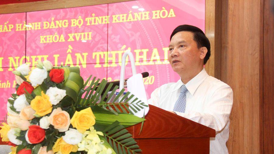 Khai mạc Hội nghị Tỉnh ủy Khánh Hòa lần thứ hai