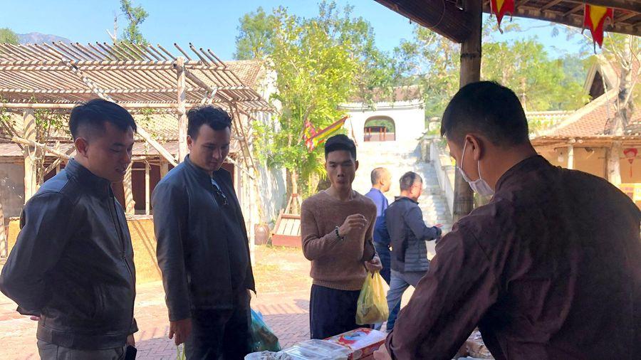 Các cơ quan báo Đảng tham quan Yên Tử
