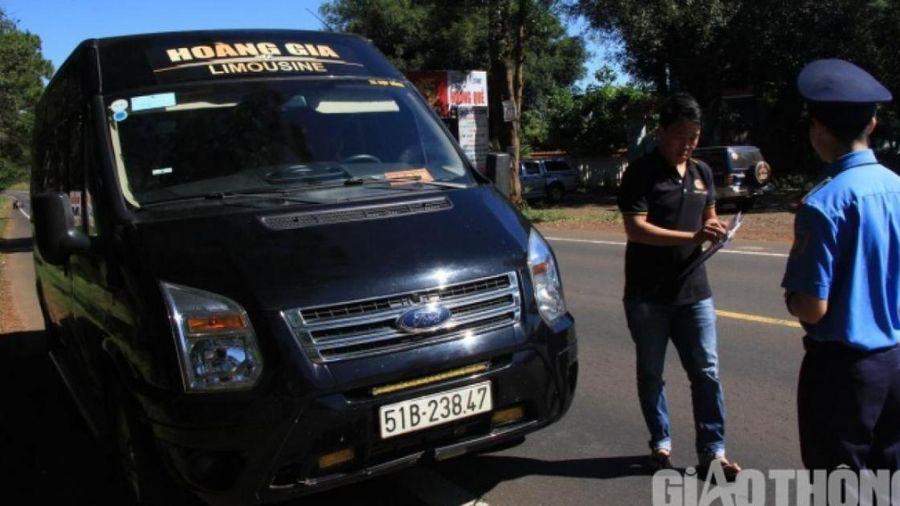 Đắk Nông: Quyết liệt xử lý xe hợp đồng hoạt động trá hình
