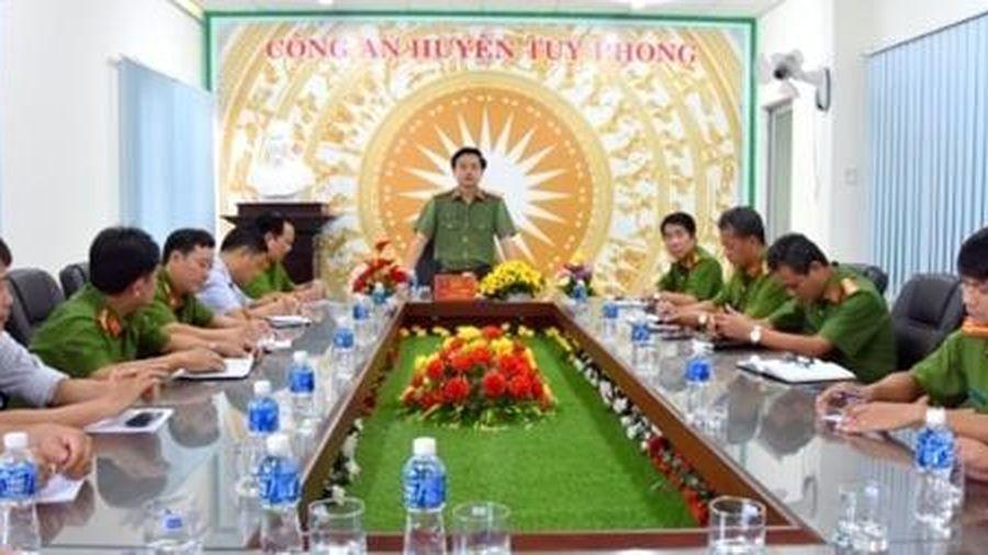 Truy bắt đối tương giết người, cướp tài sản tại Bình Thuận
