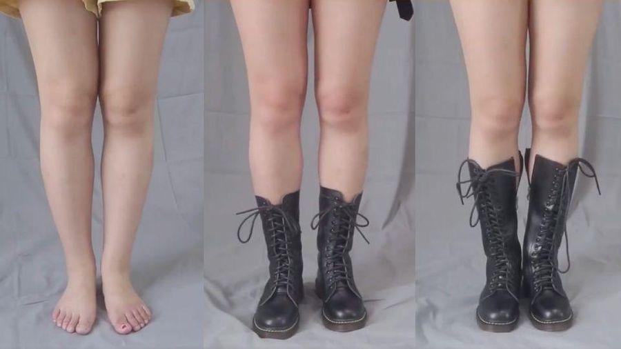 Chị em chân to, đùi thô nên tránh xa kiểu boots này
