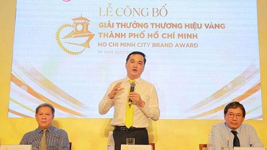 Thành phố Hồ Chí Minh triển khai Giải thưởng Thương hiệu Vàng năm 2020