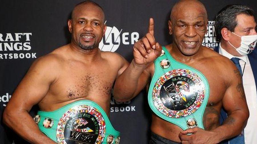 Mike Tyson vs Roy Jones Jr có doanh thu xem qua truyền hình cao hơn Tyson Fury vs Deontay Wilder