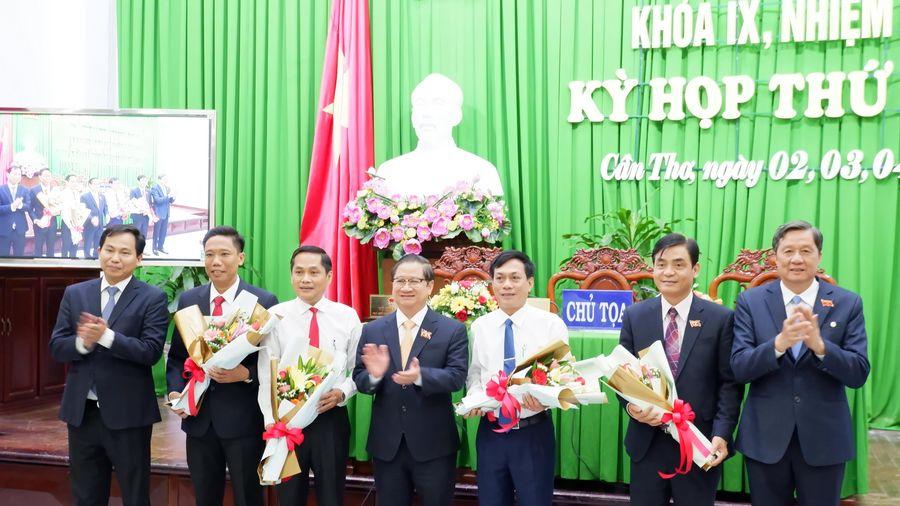 Cần Thơ: Bầu bổ sung 4 Phó Chủ tịch HĐND và UBND