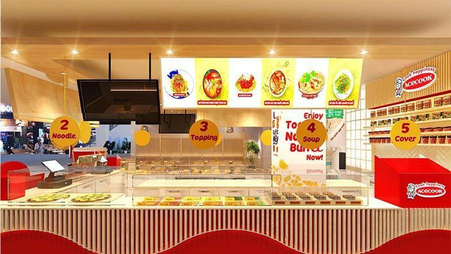 Sắp khai trương 'Nhà hàng Acecook Buffet Mì ly' đầu tiên