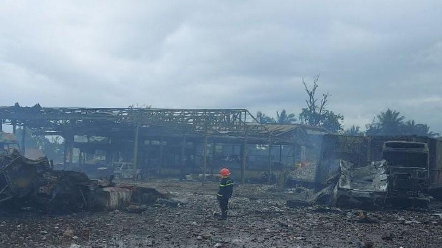 1 người Việt tử vong trong vụ cháy nổ ở Lào