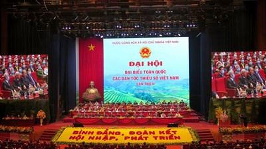 Khai mạc trọng thể Đại hội đại biểu toàn quốc các dân tộc thiểu số Việt Nam