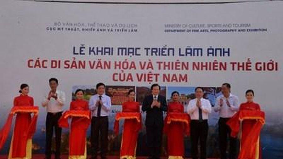 Triển lãm ảnh 24 di sản thế giới của Việt Nam tại Phú Quốc