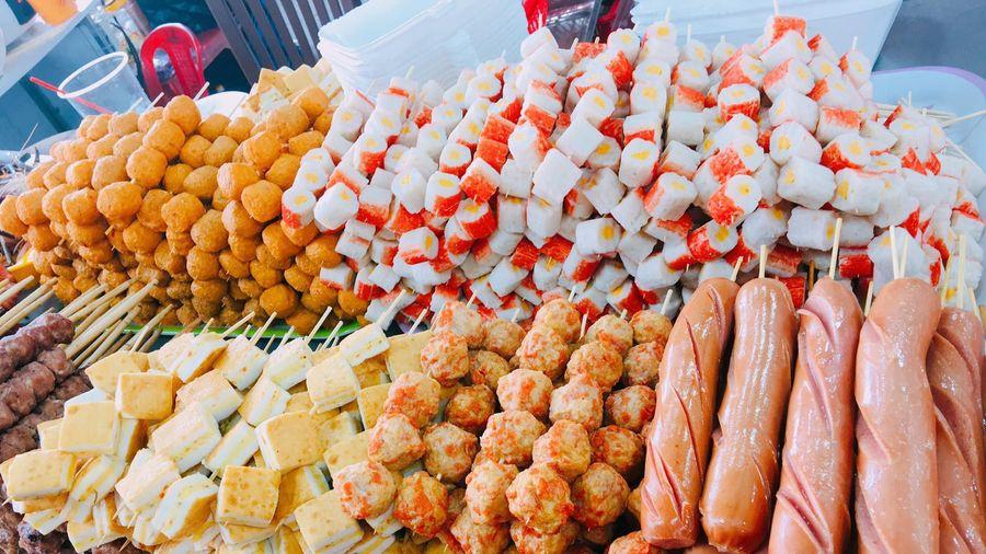 Hội chợ mua sắm và ẩm thực Việt - Thái cập bến Kiên Giang