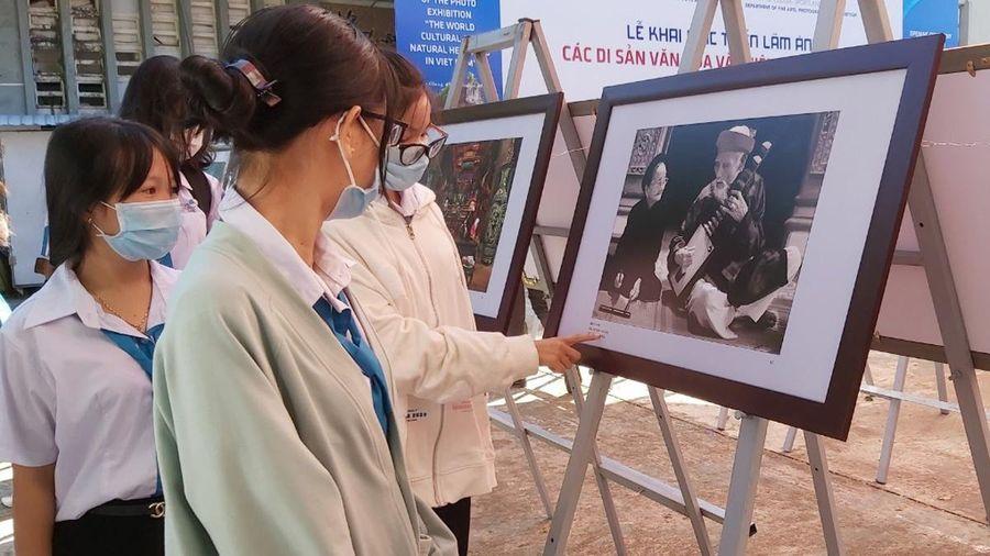Triển lãm 160 bức ảnh chụp di sản thế giới của Việt Nam