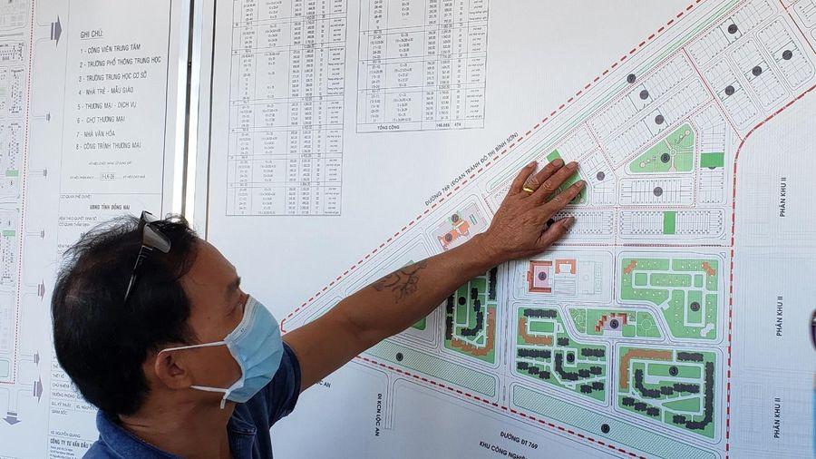 94 hộ dân ở dự án sân bay Long Thành bốc thăm đất tái định cư