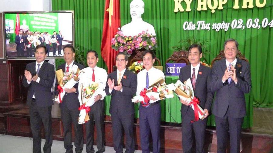 Cần Thơ bầu Phó Chủ tịch HĐND và ba Phó Chủ tịch UBND thành phố