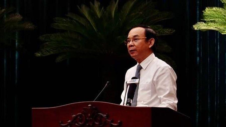 Bí thư Thành ủy TP HCM Nguyễn Văn Nên nói về Khu Đô thị mới Thủ Thiêm