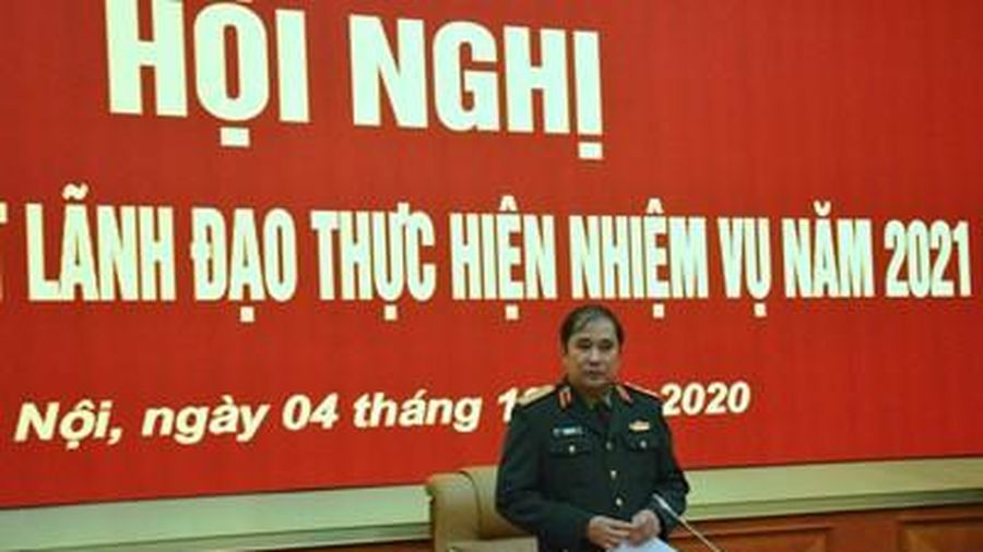 Đảng ủy Bộ Tổng Tham mưu-Cơ quan Bộ Quốc phòng ra Nghị quyết lãnh đạo thực hiện nhiệm vụ năm 2021