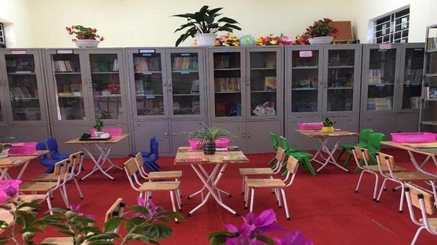 Thư viện 'xanh' thu hút học sinh