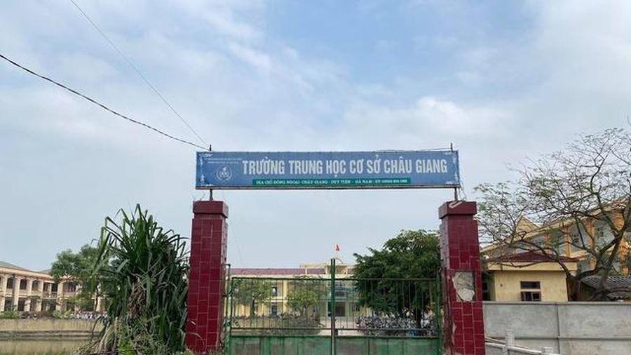 Thông tin mới vụ nam sinh lớp 9 đánh bạn tử vong ở Hà Nam